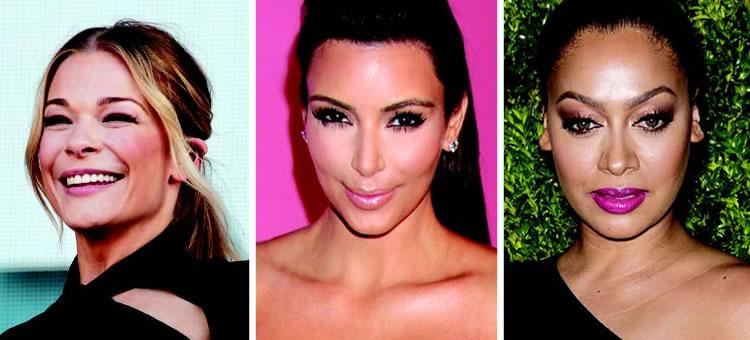 LeAnn Rimes, Kim Kardashian, La La Anthony